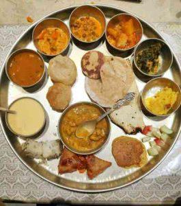 Gujarati thali| Mahendra thaal| thaltej